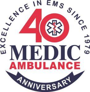 Medic 40th Ann Logo cmyk